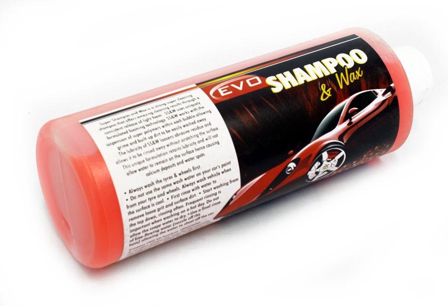 Evo Tuning Shampoo & Wax