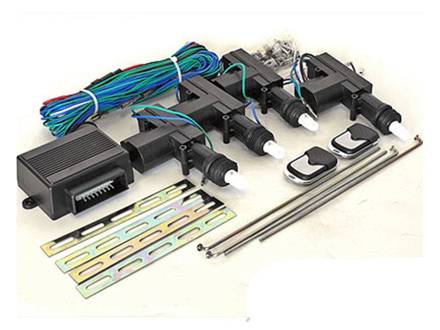 Central Locking Kit - 4door - with remote
