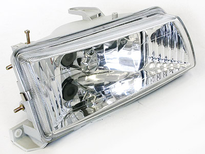 Toyota Twincam Chrome Crystal Headlights