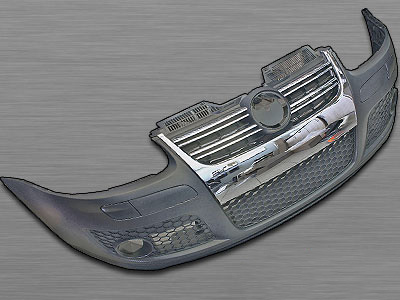 Golf 5 R-line Front Bumper Kit with Foglights