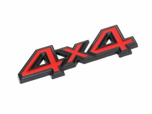 4x4 Red Grille Badge (11)-0