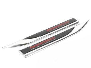 Mazda Speed Chrome Side Fender Badges (pair)-0