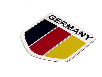 Germany Metal Badge Sticker