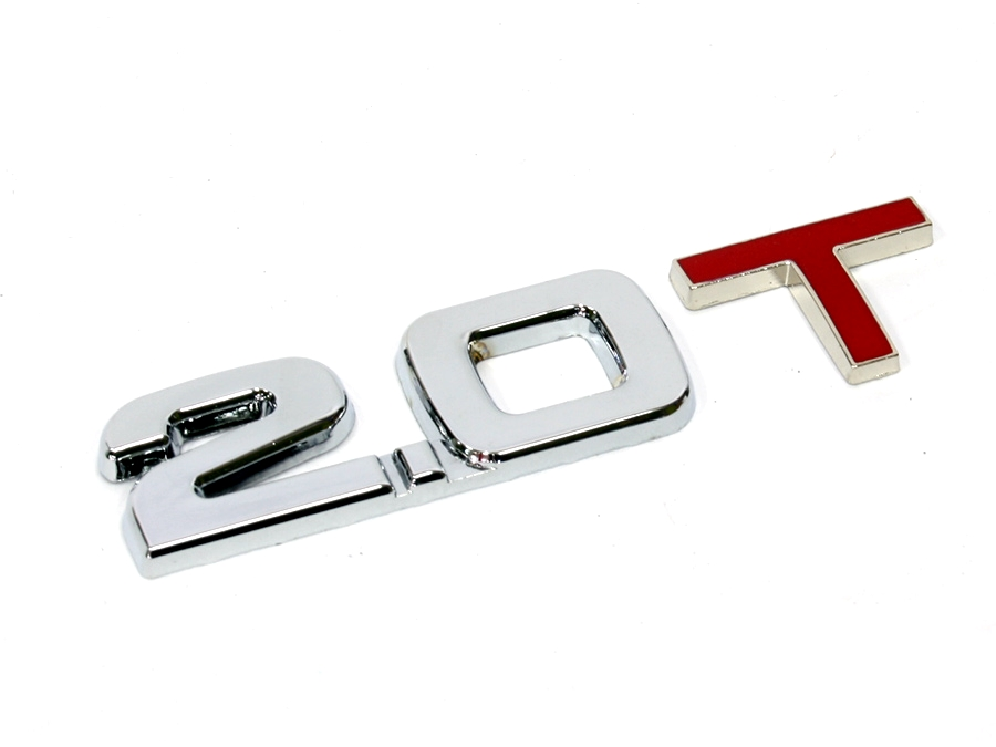 Chrome 2.0T Sticker Badge