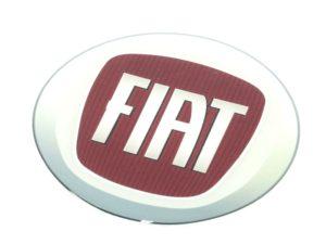 Fiat Logo Gel Dome Sticker-0