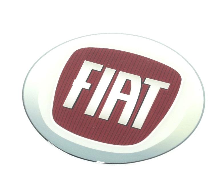 Fiat Logo Gel Dome Sticker