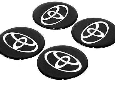 Toyota Wheel Center cap decals
