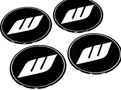 Works Black Design Wheel Decals