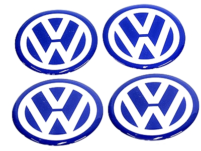 Wheel Decal Stickers for Vw (set of 4)-0