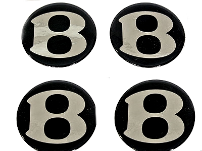Bentley Black and Silver Gel Mag Decal