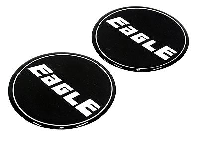 Eagle Alloy Wheel Center Cap Stickers