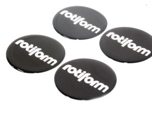 Rotiform Design Wheel Decal Stickers (set of 4)-0