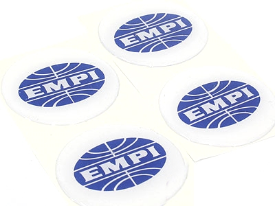 EMPI Gel Dome Wheel Decal Set (45mm)