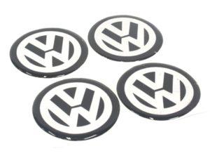 VW 50mm Wheel Decal Sticker Set-0