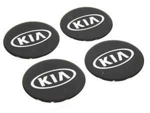 Kia Alloy Wheel Decal Center Stickers -0