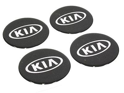 Kia Alloy Wheel Decal Center Stickers -0