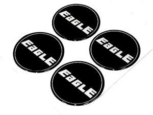 Eagle Wheel Center Cap Stickers -0
