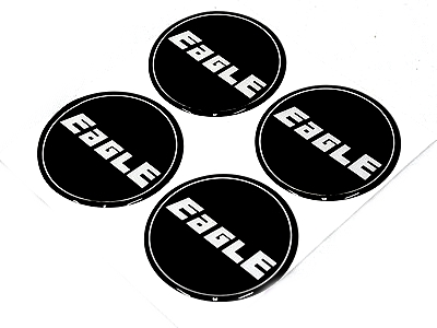 Eagle Wheel Center Cap Stickers