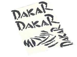 Dakar Racing Vinyl Door Sticker Kit-0