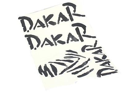 Dakar Racing Vinyl Door Sticker Kit