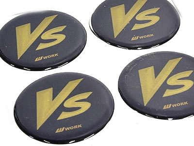 VS Gold and Black Mag Gel Decal