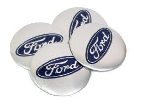Ford 55mm Wheel Center Decals-0