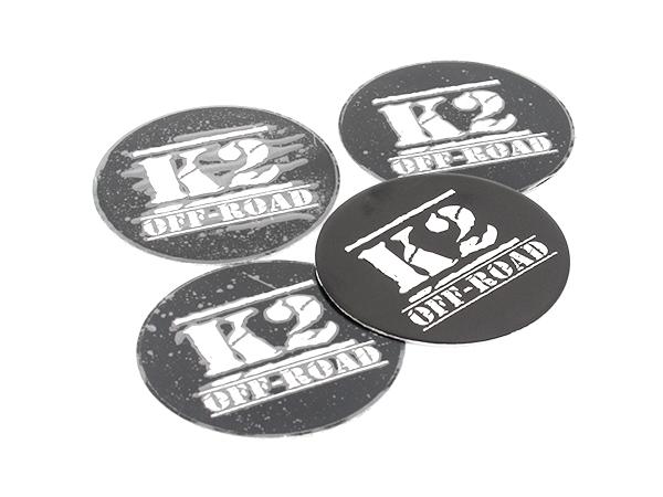 K2 Offroad Design Wheel Decals