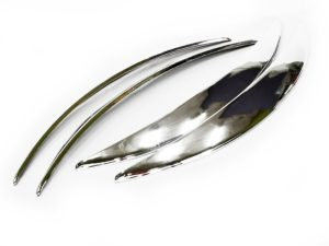 Universal Chrome wheel Arches (set)-0