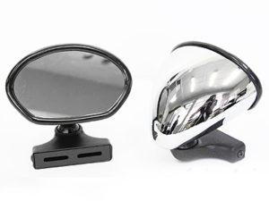 Universal Classic Car KD-1185 Chrome Mirrors (pair)-0