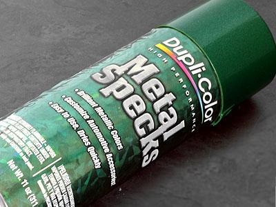 Duplicolor Metalspeck Green