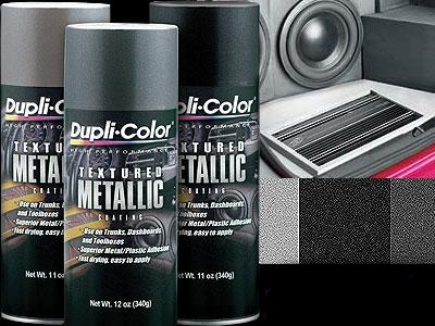 Duplicolor Silver Textured Coating