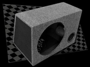 "Box 15"" Single Ported Sub Box-0"