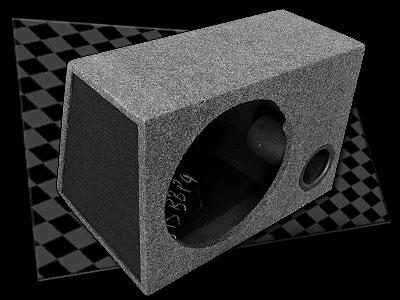 Box 15″ Single Ported Sub Box
