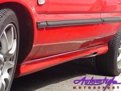 Toyota Tazz New 01 Up Side Skirts