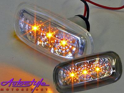Vw Citi Led Clear or Smoke Side Markers-0