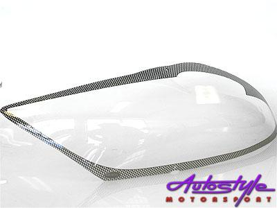 Toyota Auris07+ Carbon Headlight Shields