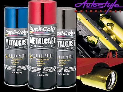 Duplicolor Metalcast Anodized Colors