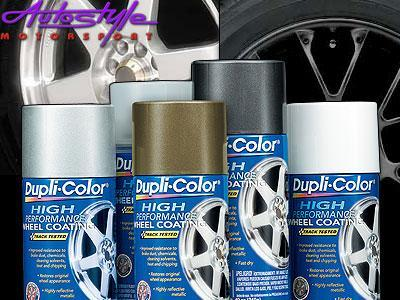 Duplicolor Wheel Coating Spray Silver
