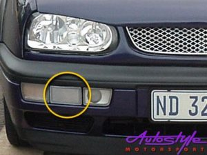 Vw Golf/Jetta Replacement Bumper Dummy (right)-0