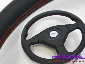 Maldini Black Steering Wheel 360mm-0