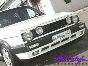 Vw Golf Mk2 Debadged Double Headlight grille-0