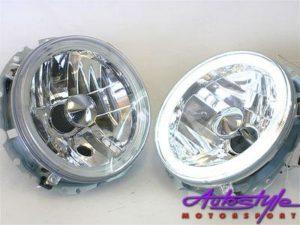 G1 Headlights with Neon Angel Eye Ring-0