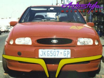 Ford Fiesta oldshape Eyelids