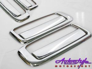 Toyota Tazz Chrome Door Handle Covers-0
