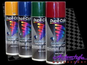 Duplicolor Acrylic Enamel Cherry Red Spraypaint-0