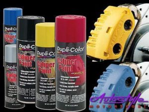 Duplicolor Caliper Spray Yellow Kit-0