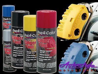 Duplicolor Caliper Spray Yellow Kit