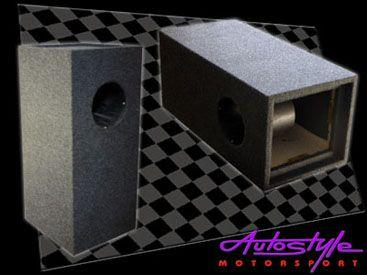 12″ Single Subwoofer Bandpass Box