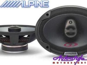 """Alpine SPG-69C3 350w 6x9"""" Speakers-0"""