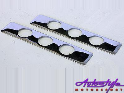 Universal Chrome Door Handle Covers